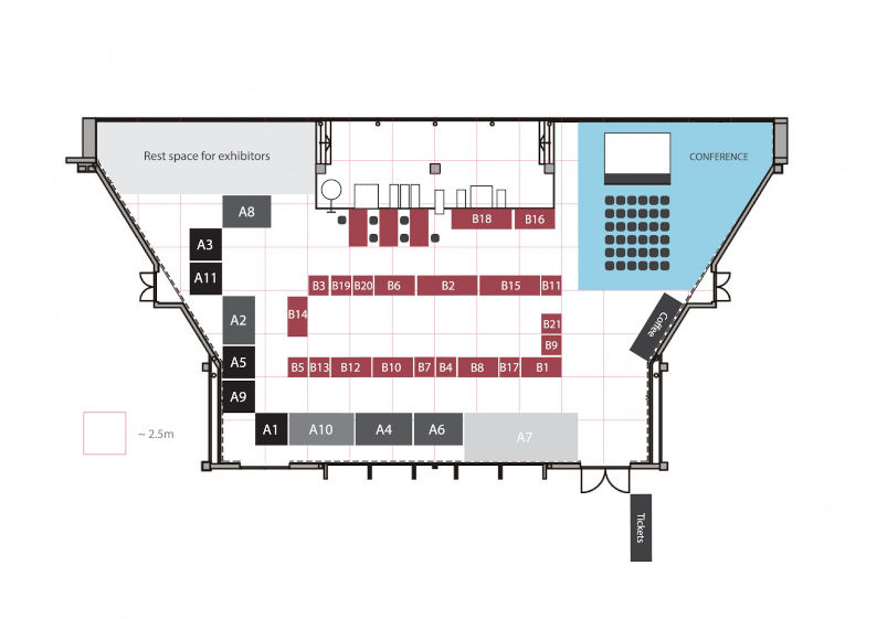 MS Coin Fair 2018 Floor plan